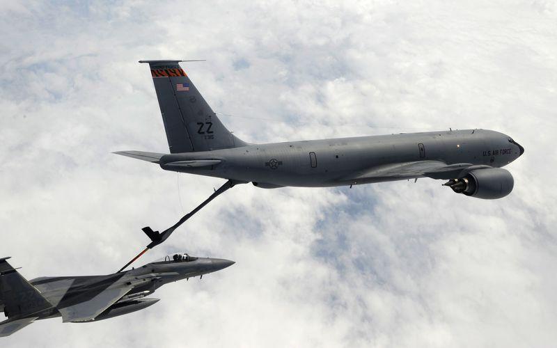 Un F-15 Eagle perd sa verrière au cours d'un vol