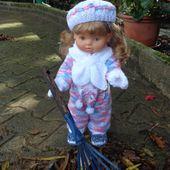 Rose s'affirme...nouvelle tenue complète pour jardiner... - Bouh de laine et chant de coton