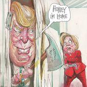 Humour Donald Trump Président: De l'horreur à la Joie du Front National - Doc de Haguenau