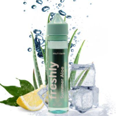 Test - Eliquide - Summer Aloé gamme Freshly de chez Bobble Liquide