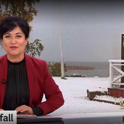 14/09 : il a neigé dans le nord de la Suède