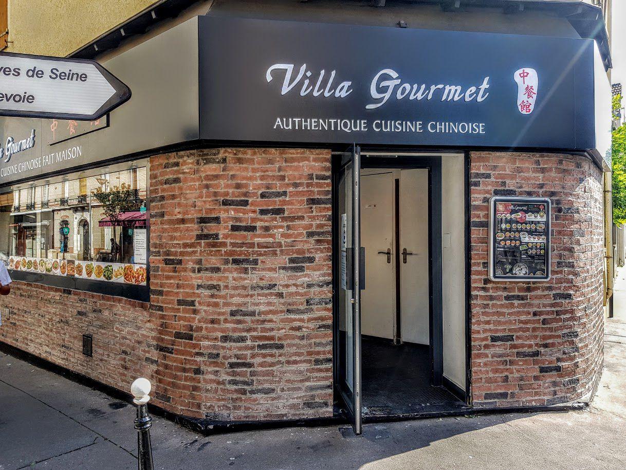 Villa Gourmet restaurant Courbevoie avenue de la République