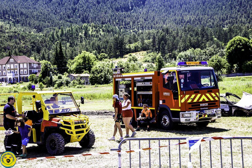 Le 13 juillet journée portes ouvertes au centre de secours de St André les Alpes