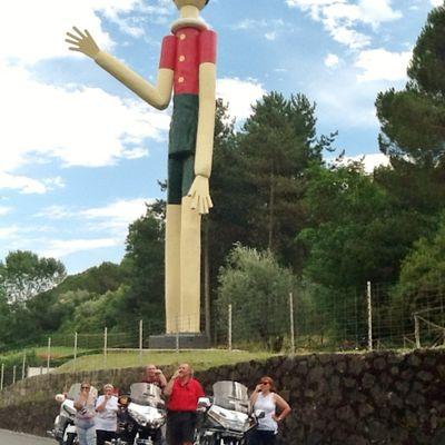 Goldwing - Pistoia, Montecatini et Collodi (Pinocchio) toscane en moto