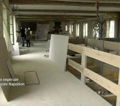Reportage de Canal 32 sur la rénovation du Musée Napoléon