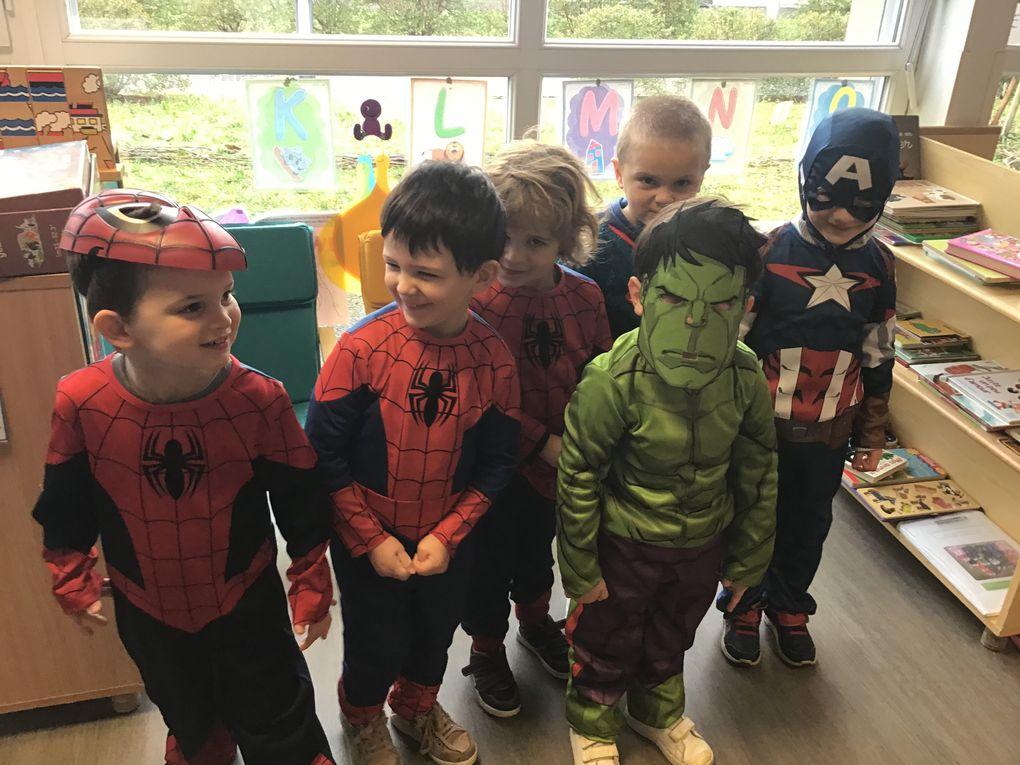 Carnaval à l'école maternelle de Villeneuve sur Lot