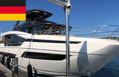 Prestige X70 - erste Videobilder vor einer Sondersendung von BoatScopy