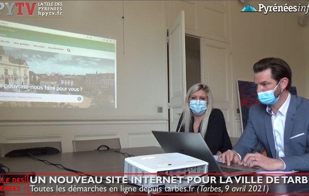 Un nouveau site internet pour la Mairie de Tarbes (9 avril 21) | La Télé de Tarbes