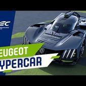 PEUGEOT 9X8 Hypercar REVEALED!