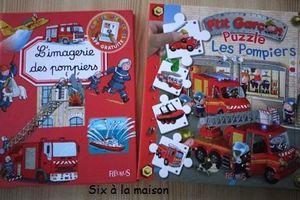 Nouveaux livres sur les Pompiers (et applications)