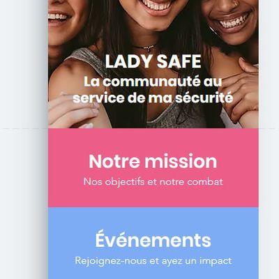 """""""Lady Safe"""", une appli pour aider les femmes harcelées dans la rue"""