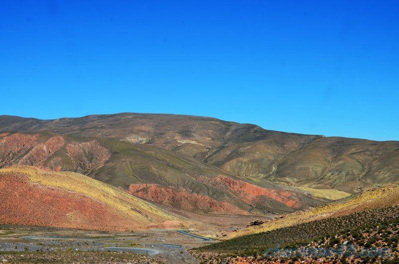 Ruta 52 vers Salinas Grande (Argentine en camping-car)