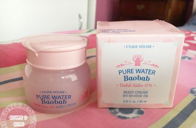 Review: Etude House Pure Water Baobab Moist Cream