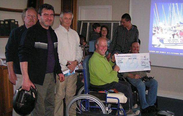 Motards solidaires : 2 000 € pour Pen-Bron