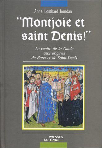"""Enluminures extraires de la """"VITA BEATI DIONYSII"""" du Frère Yves. Moine de l'Abbaye de Saint-Denis."""