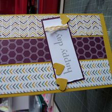Carte Happy Day pour Stampin'up