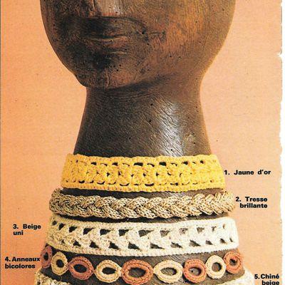 bijoux au crochet : les tours de cou