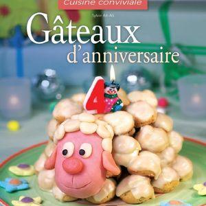 Gâteaux d'anniversaire : un livre à gagner!!!