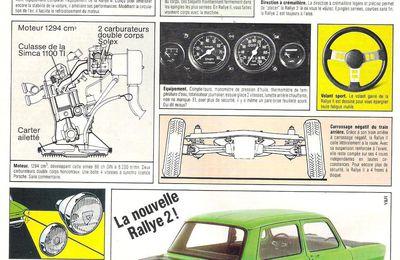 La Simca Rallye 2