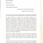 Non-intégration à la fonction publique au Tchad: mobilisation générale pour la pétition - Makaila, plume combattante et indépendante