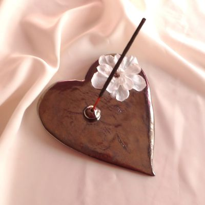 Coeurs porte encens