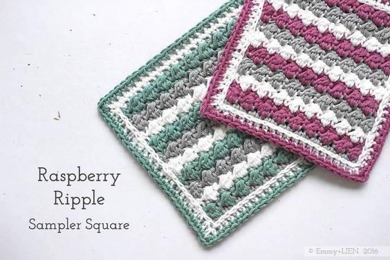 Crochet : Carré 83 & 84