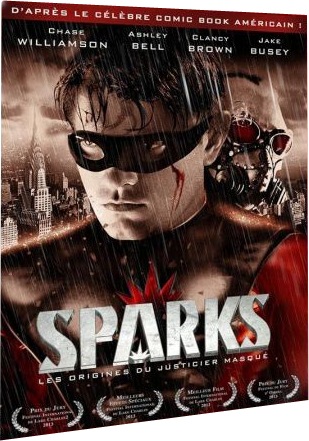 Sparks (2013) avec Chase Williamson, Ashley Bell, Clancy Brown, Jake Busey