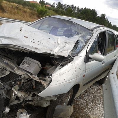 accident de voiture au Portugal