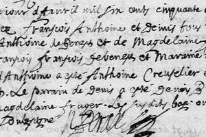 Des triplés à Civray au XVIIe siècle.