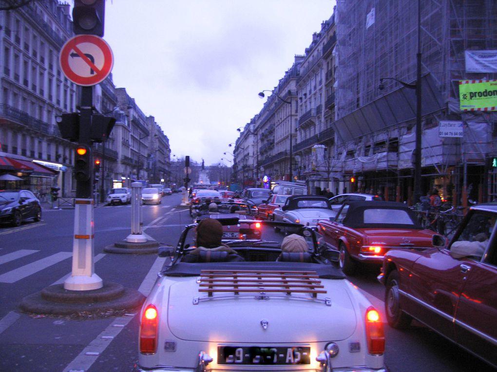 13eme Traversee de Paris en anciennes le 6 janvier 2013 Organisée par Vincennes en Anciennes