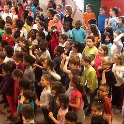 Une chorale à l'école