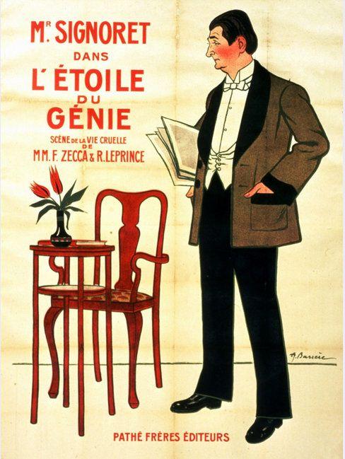 PUBLICITES : LES GRANDS AFFICHISTES...  Adrien BARRERE