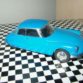 FASCICULE N°23 CITROEN DS 19 COUPE RICOU 1959 NOREV 1/43 - car-collector.net