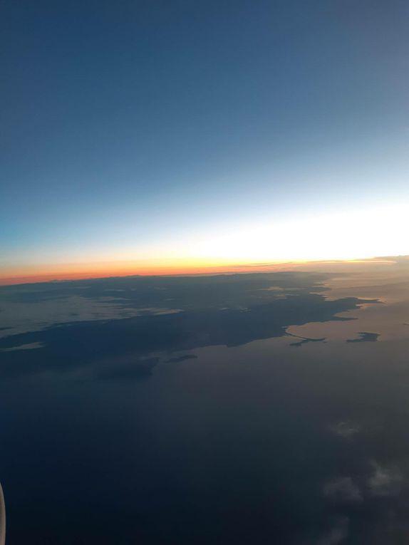 En vol pour la Sardaigne.