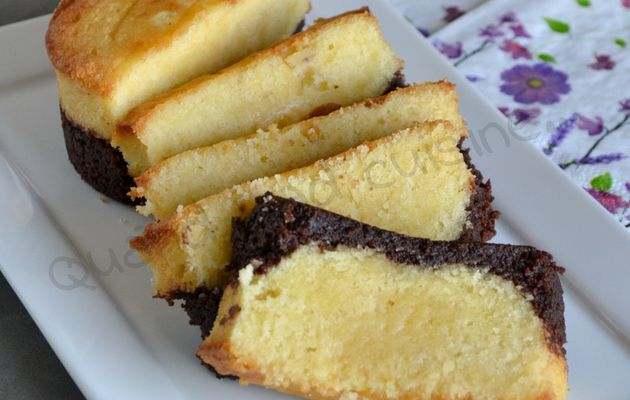 Brownie butter cake (ou browcake)