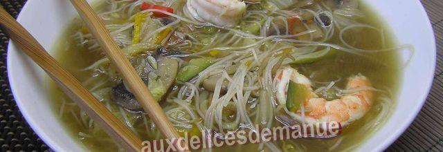 soupe franco asiatique