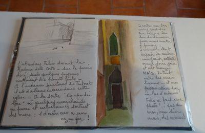 """Galerie de Mézières - EAUBONNE - """"Les carnets de Renée Gratioulet"""""""