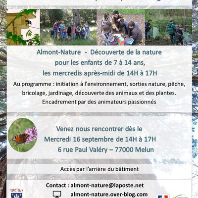 Reprise Almont-nature - Mercredi 16 septembre