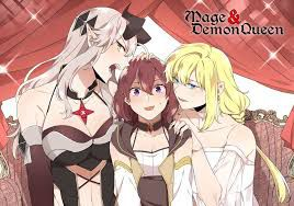MAGE AND DEMON QUEEN