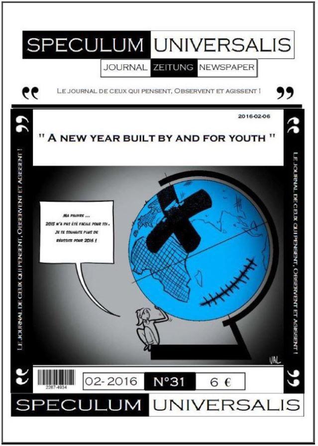 Revue Speculum Universalis Nouvelle année