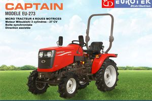 Le microtracteur CAPTAIN arrive chez Eurotek !