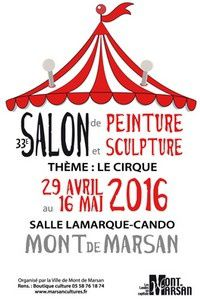 33ème salon peinture sculpture Mont de Marsan (40)