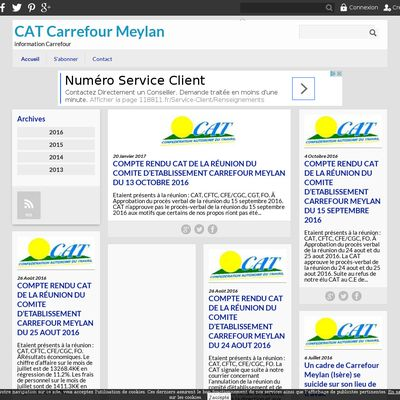 CAT Carrefour Meylan