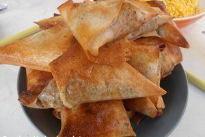 Spécial Ramadan: Samosas aux légumes saveurs indiennes
