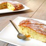 Gâteau abricot, prune ou pêche