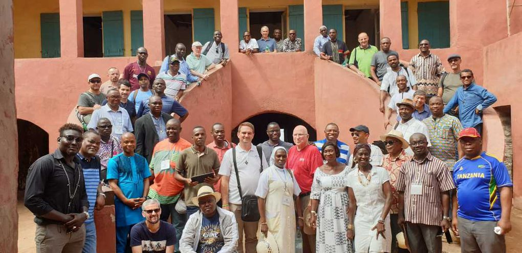 30 confreres gathered, many work sessions and informal discussions to build a family spirit.