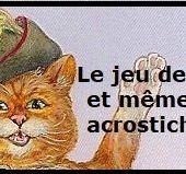 LE JEU DU DOUBLE ACROSTICHE CHEZ LENAIG- RANDONNEE - MA CHIENNE DE VIE