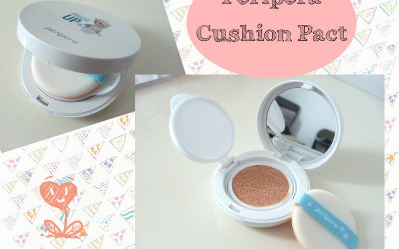 Du nouveau pour le teint : La Cushion Cream !! Version Peripera La Reine des Neiges