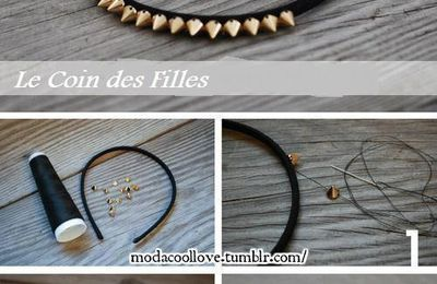 DIY customiser un serre tête.♥
