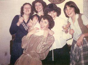 Joyce, Sally, Christine, etc
